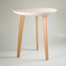 Porcelain table | Nude