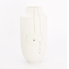 Vase Field flower | White | 03