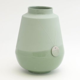 Dip vase | Big | Green | 071