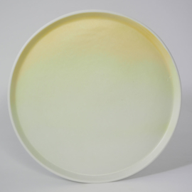 Gradient | Plate | Large | Yellow