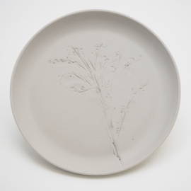 Plant stamp plate | L | Grey