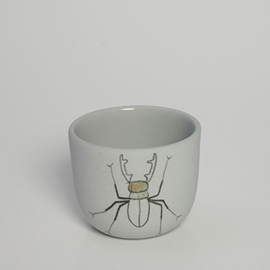 Cup Insect | Mouse grey | S