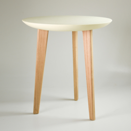 Porcelain table | Yellow