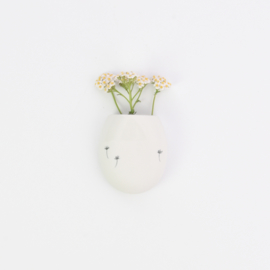 Wall flower vase | M | White
