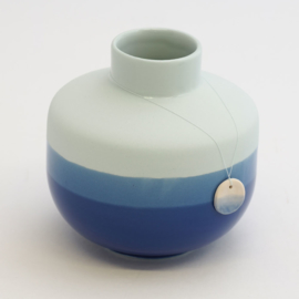 Dip vase | Round  | Light blue | 094