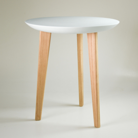 Porcelain table | Light blue