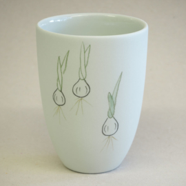 Cup food | Medium | Mint | Spring onion