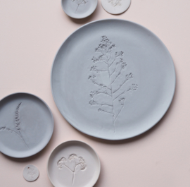 Plant stamp plate | XL | Grey