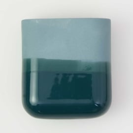 Dip wall vase | Short | Ocean 062
