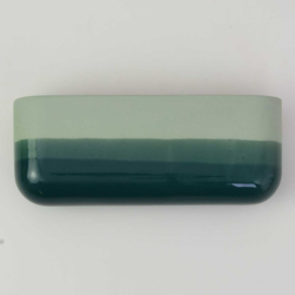 Dip wall vase | Wide | Green 062