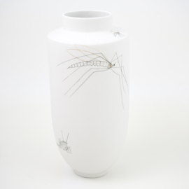 Vase | Insect | White