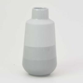Dip vase   M    Mouse grey 090