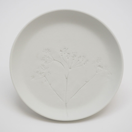 Plant stamp plate | M | White