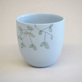 Cup food | Small | Blue | Fresh mint