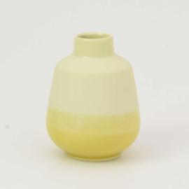 Dip vase | S |  Yellow 084