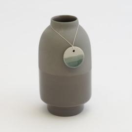 Dip vase | Dark grey | 090