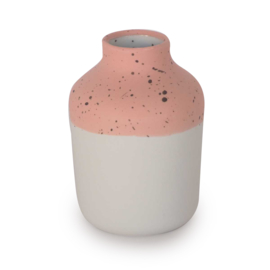Clay vase | S | Red | Dots