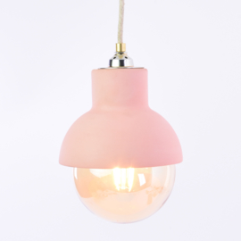 Ceiling light | L | Coral red