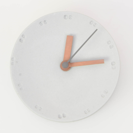 Clock - Small   Mouse grey
