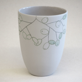 Cup food | Medium | Grey | Grapes