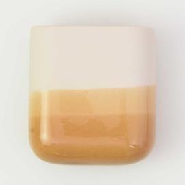 Dip wall vase | Short | Nude 041