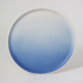 Gradient | Plate | Large | Blue
