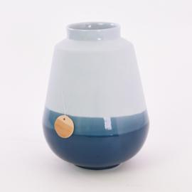 Dip vase   L    Blue 065
