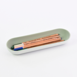 Pencil tray | Wide | Small | Mint