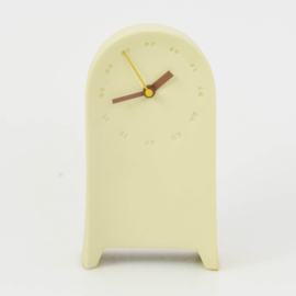 Clock | Desk | Yellow