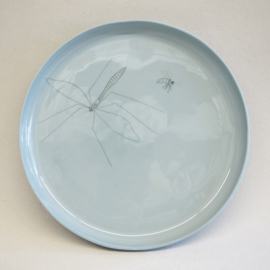 Plate Insect | XL | Blue