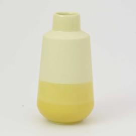 Dip vase | M |  Yellow 084