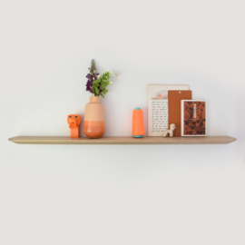 Wall shelf - Oak - 90 cm