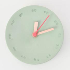 Clock - Small   Green