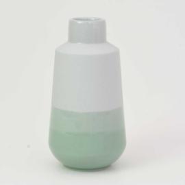 Dip vase | M |  Mouse grey 071