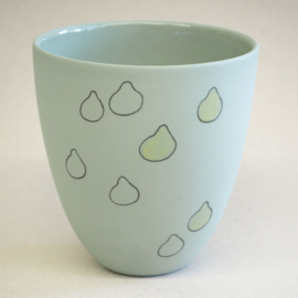 Cup food | Large | Green | Lemon