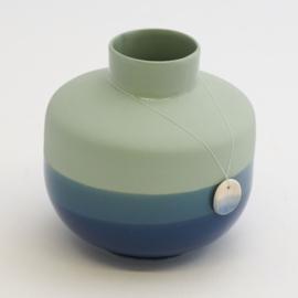 Dip vase | Round  | Green | 094