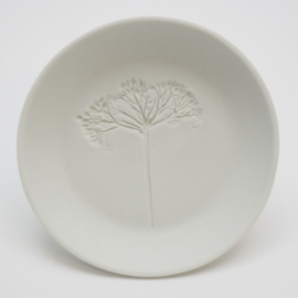Plant stamp plate | S | White