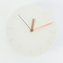 Clock - Large   White