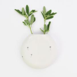 Wall flower vase | XL | White