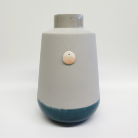 Dip vase | Super big | Grey | 065