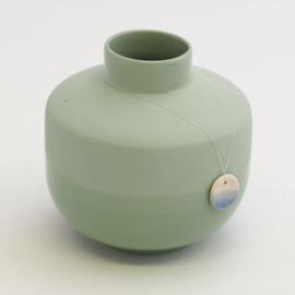 Dip vase | Round  | Green | 071