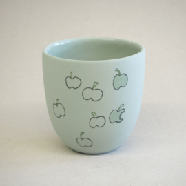Cup food | Small | Green | Apple
