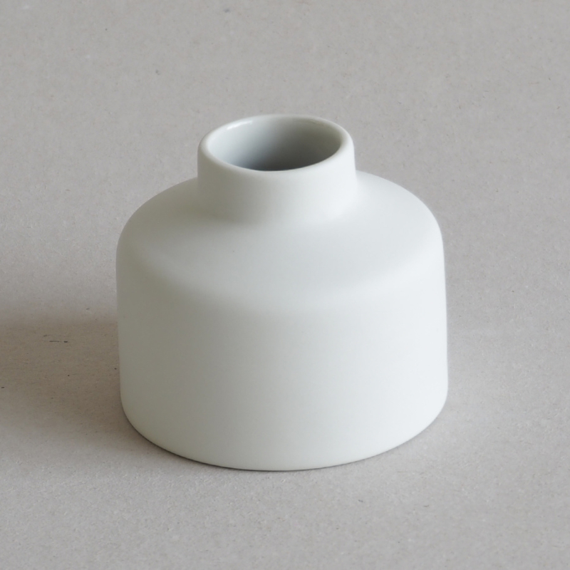 Desk - Brush pot - White