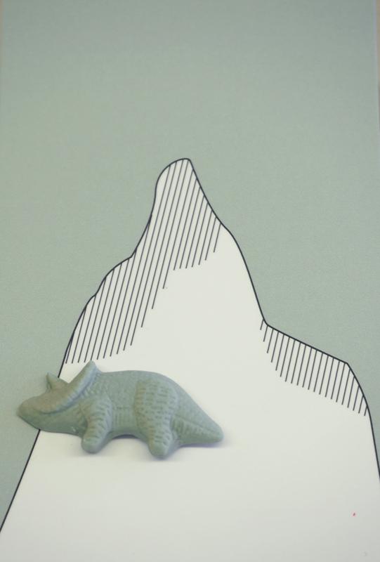 Brooche | Dinosaur | 2 | Green