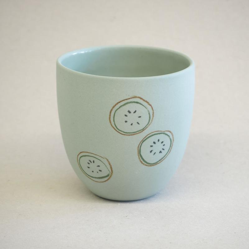 Cup food   Small   Green   Kiwi