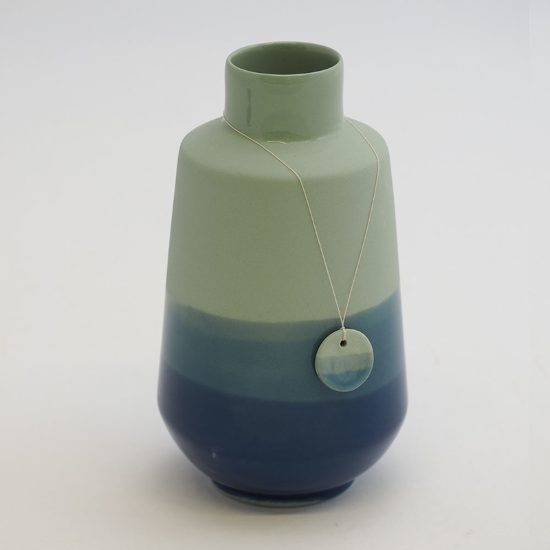 Dip vase | Fine | Green | 094