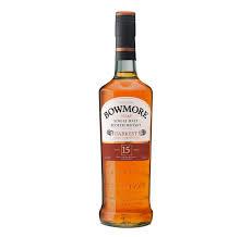 Bowmore 15 Years + Gb 0.70 Liter
