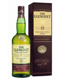 The Glenlivet 15 Years French Oak + Gb 0.70 Liter