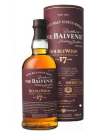 BALVENIE Balvenie 17 Years Double Wood + Gb 0,70 Liter