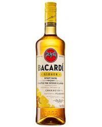 Bacardi ginger 0,7 liter